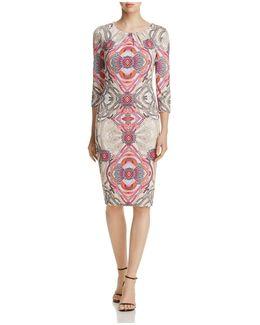 Kaleidoscope-print Dress