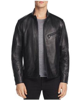 Gibson Leather Moto Jacket