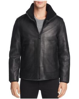 Trailblazer Faux Fur & Leather Jacket