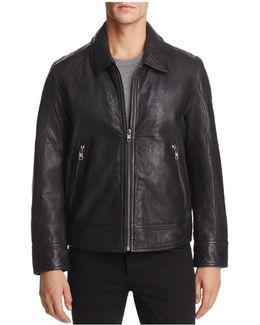 Morrison Leather Bomber Jacket