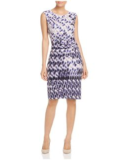Nic+zoe Lotus Twist Dress