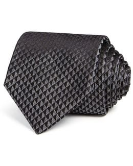 Contrast Triangle Classic Tie