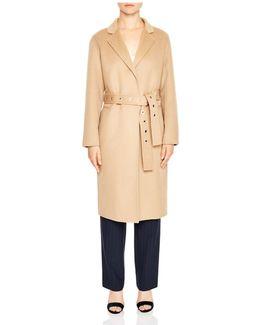 Miki Wool-blend Coat