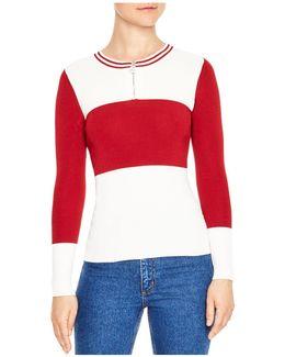 Fiona Color-block Sweater