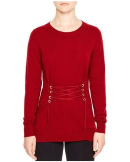 Robine Lace-up Sweater