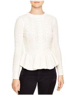 Rickie Beaded Sweater