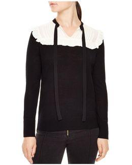 Chicago Tie-neck Sweater