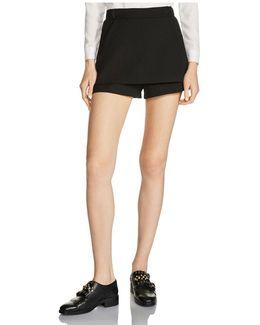 Ipam Double-layer Mini Shorts