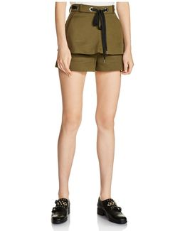 Ipolyte Double-layer Mini Shorts
