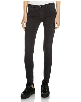 Jaw Skinny Jeans In Anthracite