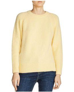 Marla Ribbed-trim Raglan-sleeve Sweater