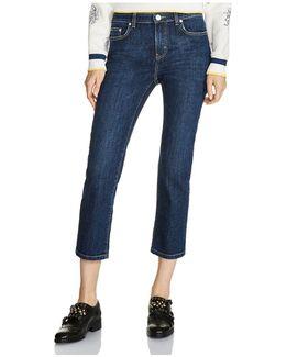 Pippou Cropped Straight-leg Jeans