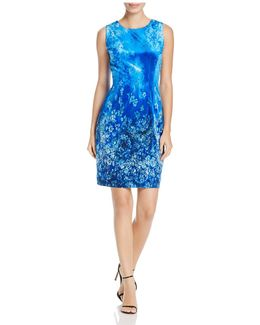 Dakota Velvet Sheath Dress