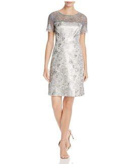 Serina Foil Lace Dress