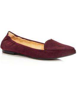 Women's Nova Suede Pointed Toe Flats