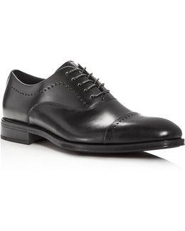 Men's Design Cap Toe Oxfords