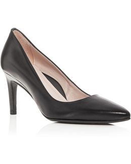 Women's Gabriela Leather Pointed Toe Pumps
