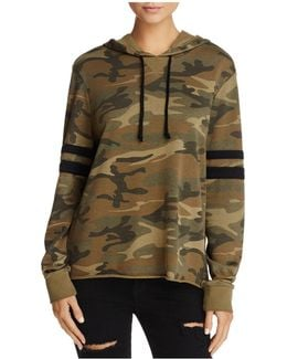 Day Off Camo Hooded Sweatshirt