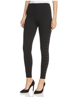 Grommet Leggings