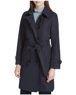 Tie-waist Trench Coat