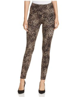 Animal-print Leggings