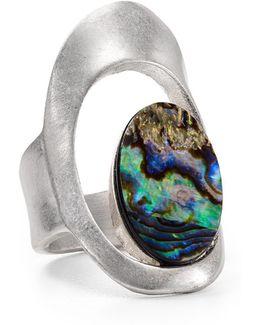 Abalone Cutout Ring