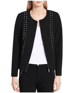 Studded Zip Jacket