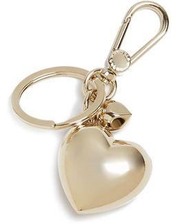 3d Heart Key Ring