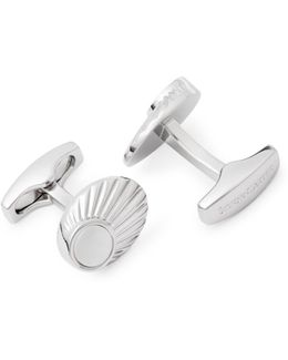 Finial Mother-of-pearl Cufflinks