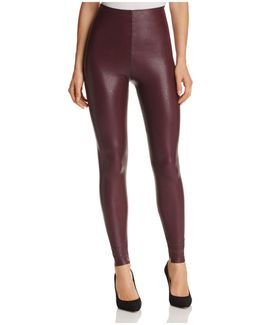 Perfect Control Faux Leather Leggings