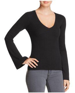 Virgie Bell-sleeve Sweater