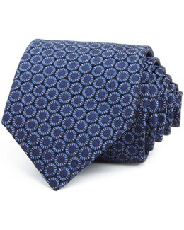 Abstract Circle Classic Tie