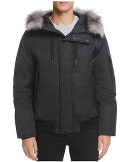 Alpine Hooded Bomber Jacket