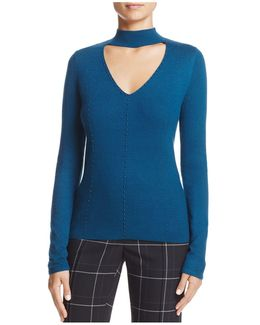 Rodena High-neck Sweater