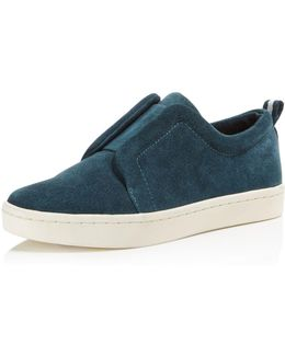 Women's Dagny Suede Slip-on Sneakers