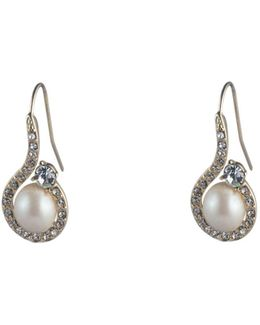 Majestic Pavé Drop Earrings