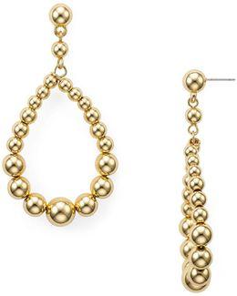 Ball Teardrop Earrings