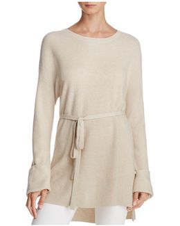 Gisella Slouchy Belted Sweater