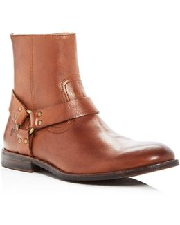 Men's Sam Leather Harness Boots
