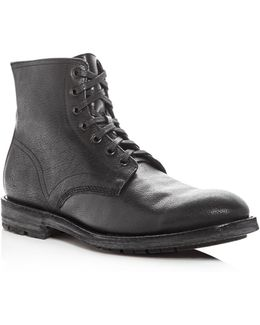 Men's Bowery Pebbled Leather Boots