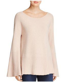 Clarette Flared-sleeve Sweater