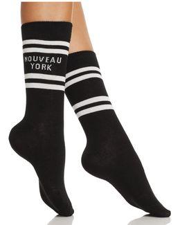 Nouveau York Crew Socks