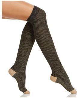 Sparkle Over-the-knee Socks