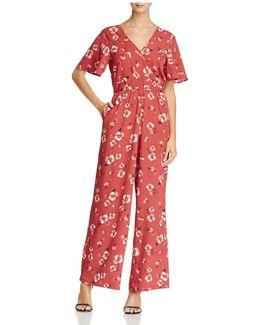 Poppy Floral Jumpsuit