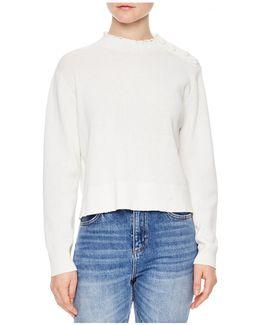 Alma Crochet-detail Sweater