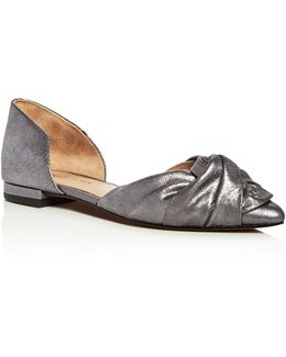Pennie D'orsay Pointed Toe Flats