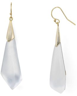 Faceted Wire Earrings