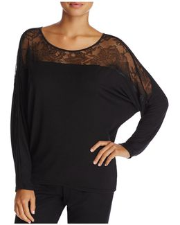 Decadence Wide Neck Lounge Top