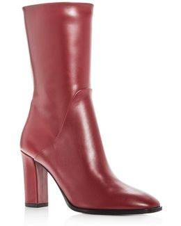 Women's Adrinna Leather High Heel Boots
