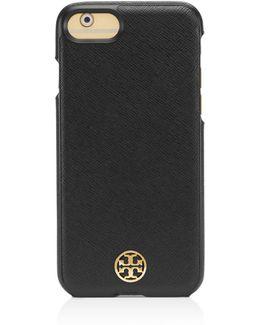 Robinson Hardshell Saffiano Leather Iphone 7 Case